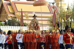 Royal procession held for newly crowned Tai King
